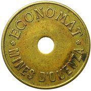 10 Centimes (Economat des Mines) – obverse