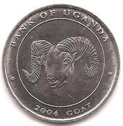100 Shillings (Goat) – reverse