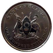 100 Shillings (non-magnetic) – obverse