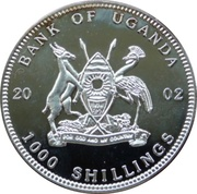 1000 Shillings (World of Football) -  obverse