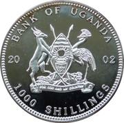 1000 Shillings (World of Football) -  obverse