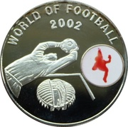 1000 Shillings (World of Football) -  reverse