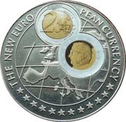 1000 Shillings (2 Euro Belgium) -  reverse