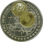 1000 Shillings (50 Euro cent Netherlands) -  reverse
