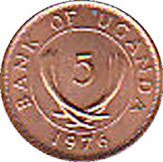 5 Cents (magnetic) – obverse
