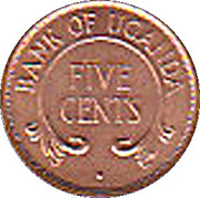 5 Cents (magnetic) – reverse