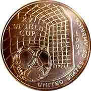 5000 Shillings (XV World Cup) -  reverse