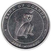 100 Shillings (Monkey) – reverse