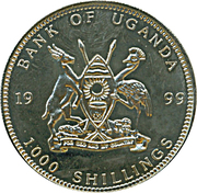 1000 Shillings (1 Euro Germany) -  obverse