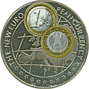 1000 Shillings (1 Euro Germany) -  reverse