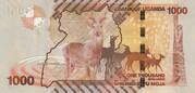 1,000 Shillings – reverse
