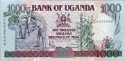 1,000 Shillings – obverse