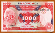 1 000 Shillings – obverse