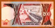 200 Shillings – reverse