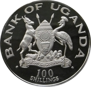 100 Shillings (Wedding of Prince Charles and Lady Diana) – obverse