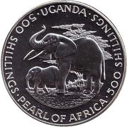 500 Shillings (Dr. Milton Obote) – obverse