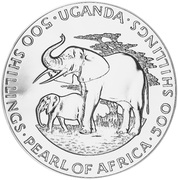 500 Shillings (Dr Milton Obote) – reverse
