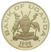 1000 Shillings (Wedding of Prince Charles and Lady Diana) – obverse