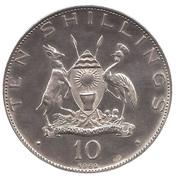 10 Shillings (Namugongo Martyrs' Shrine) – obverse