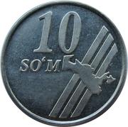 10 Soʻm – reverse