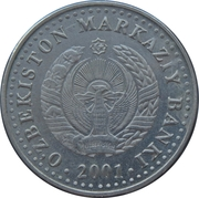50 Soʻm (Independence) – obverse