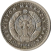100 Soʻm (Anniversary of State Currency) – obverse