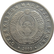 100 Soʻm (Arch of Independence) – obverse