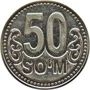 50 Soʻm – reverse