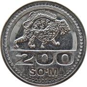 200 Soʻm – reverse