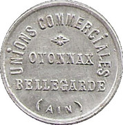5 Centimes - Unions commerciales – obverse