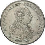 1 Thaler - Johann Wenzel -  obverse