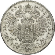 1 Thaler - Johann Wenzel -  reverse