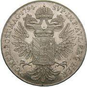 1 Thaler - Prince Wenzel – reverse