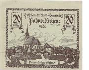 20 Heller (Pabneukirchen) -  obverse