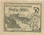 50 Heller (Pabneukirchen) -  obverse
