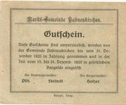 50 Heller (Pabneukirchen) -  reverse