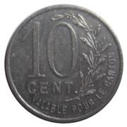 10 Centimes (Pacy sur Eure) – reverse