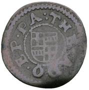2 Pfennig - Theodor Adolf von der Recke – obverse