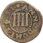 4 Pfennig - Theodor Adolf von der Recke – reverse