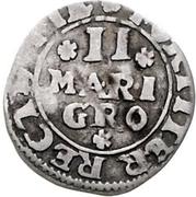 2 Mariengroschen - Theodor Adolf von der Recke – reverse