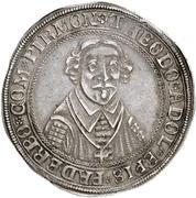 1 Thaler - Theodor Adolph von der Recke – obverse