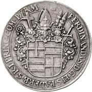 1 Thaler - Ferdinand II. von Fürstenberg – obverse
