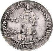 1 Thaler - Ferdinand II. von Fürstenberg – reverse