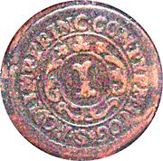 1 Pfennig - Franz Arnold von Metternich – reverse