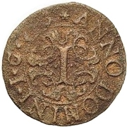 1 Pfennig - Ferdinand II. von Fürstenberg – reverse