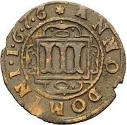 3 Pfennig - Ferdinand II. von Fürstenberg – reverse