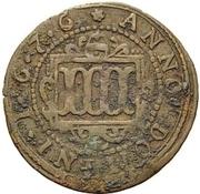 4 Pfennig - Ferdinand II. von Fürstenberg – reverse