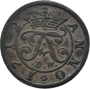 1 Mariengroschen - Franz Arnold von Metternich – obverse