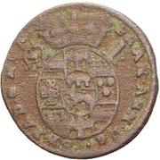 1 Pfennig - Franz Arnold von Metternich – obverse