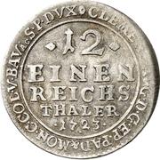 1/12 Thaler - Clemens August von Bayern – reverse
